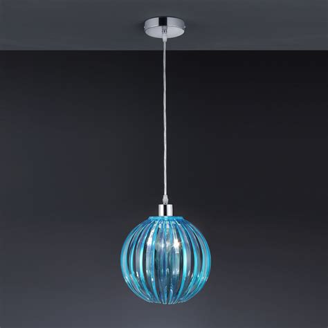Blue Pendant Light Blue Living Room Wallpaper