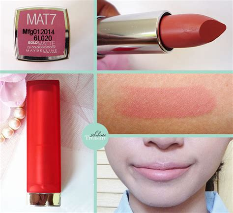 Lipstik Maybelline Indonesia maybelline bold matte lipstick harga the of