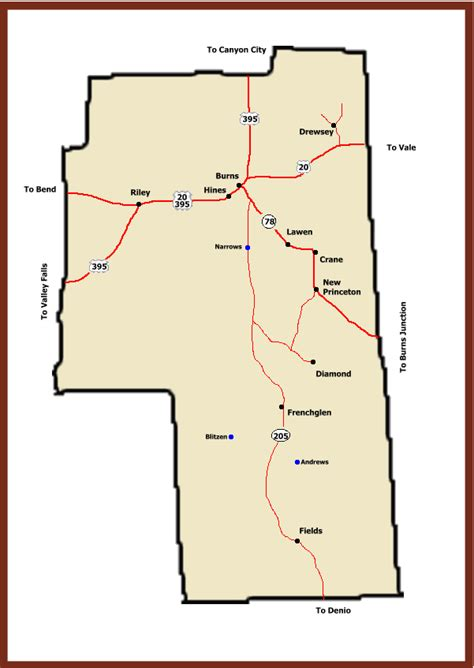 map of oregon ghost towns ghost towns of oregon harney county