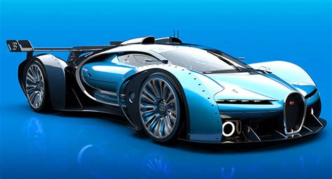 bugatti concept car artist tries to improve upon bugatti s vision gt concept