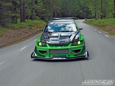 mitsubishi lancer evo modified 2004 mitsubishi lancer evolution viii modified magazine