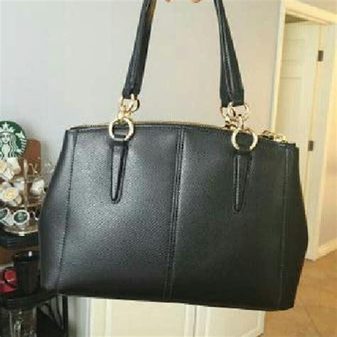 Jual Tas Coach Mini Bennet Blue Sky Black Original Asli 1 satchel bag coach bags more