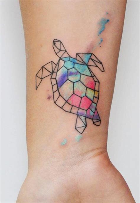 watercolor tattoo geometric 1535 best tattoos images on ideas