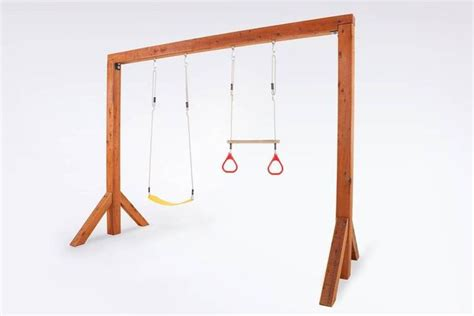 triple wooden swing set 17 best images about swings for outside on pinterest