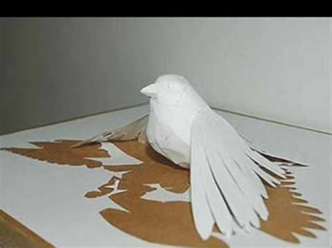 How To Make Paper Sculptures - amazing paper sculptures