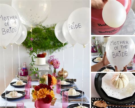 fall bridal shower and balloons balloon time