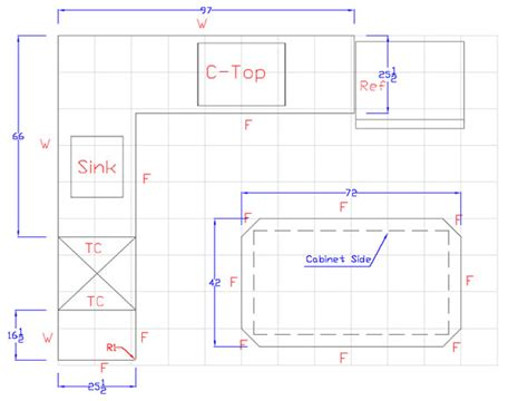 typical kitchen island dimensions typical bar dimensions images kitchen design project