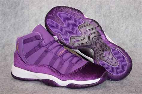 purple jordans shoes purple womens air 11 shoes