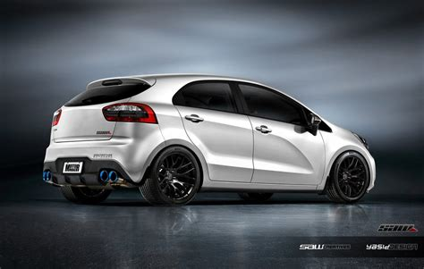 Kia Designer Kia Rio Kit Design Rear By Yasiddesign Car