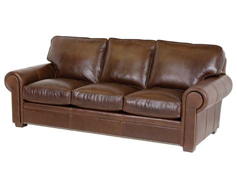 Classic Sectional Sofa Classic Leather Kirby Sofa 3518 Leather Furniture Usa