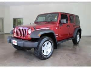 Maroon Jeep Wrangler Unlimited Maroon 4 Door Jeep Wrangler Mitula Cars