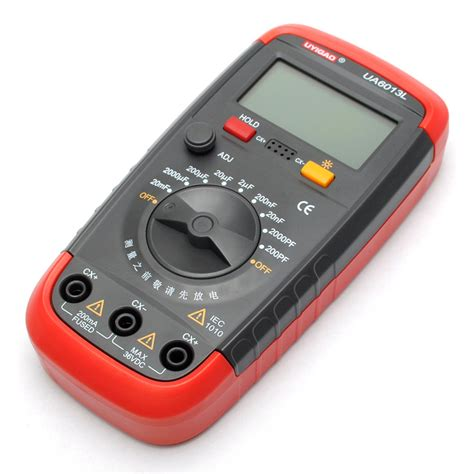 capacitor test with digital multimeter pro capacitance capacitor digital tester meter ua6013l ebay