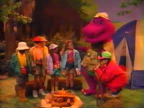 Barney And The Backyard Gang Intro Campfire Sing Along Barney Wiki Fandom Powered By Wikia