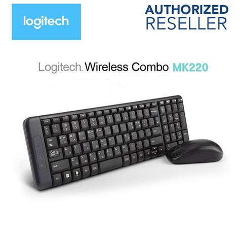 Keyboard Wireless Logitech Mk220 Logitech Wireless Combo Mk220 Keyboa End 2 18 2018 1 15 Pm