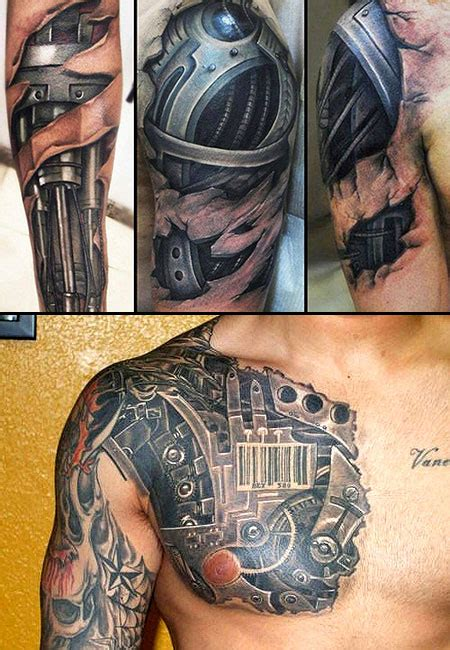 terminator tattoos design terminator inspired tattoos all kinds of