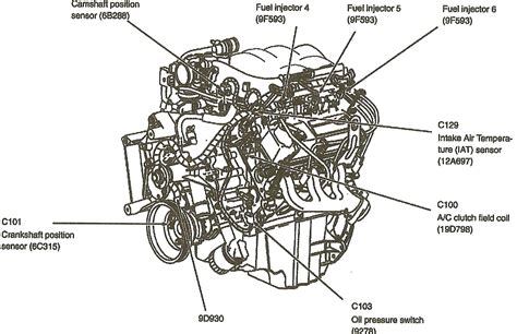 4 6 ford engine diagram 97 ford f 150 4x4 4 6 engine diagram get free image