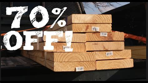 price of wood home depot how to score cheap lumber from lowes home depot
