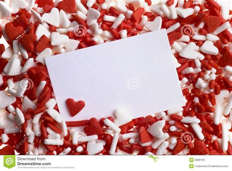valentines sprinkles sprinkles stock photo image 8088130