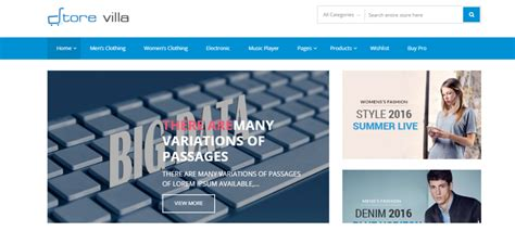 best free ecommerce themes 17 best free ecommerce themes 2018