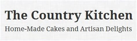 country kitchen logo the country kitchen produces cakes other goodies local