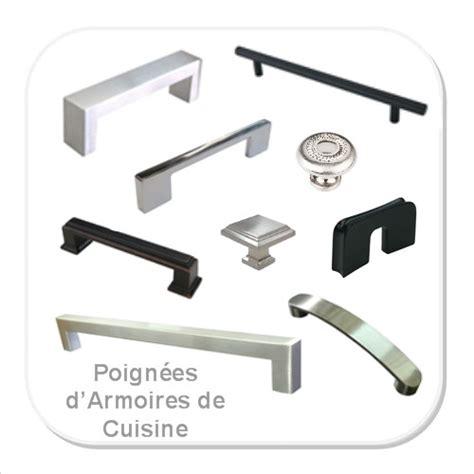 poign馥 d armoire de cuisine tout pour l armoire poign 233 es et quincaillerie armoires et