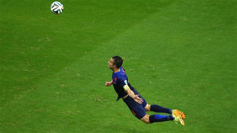 Persie Goal post one photo to define a players career soccer