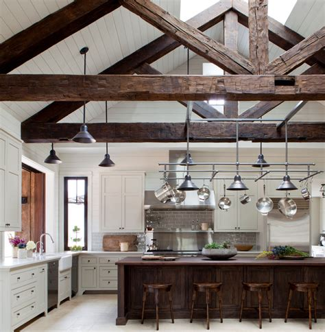 vaulted ceiling kitchen ideas ceiling with wood beams kitchens with vaulted wood