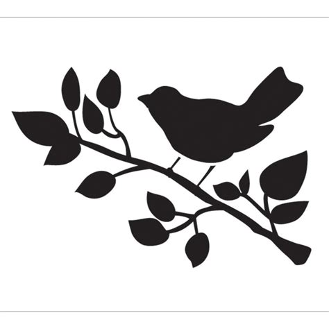 printable wall stencils birds bird 9x8 stencil 013 stenciling craft and gift