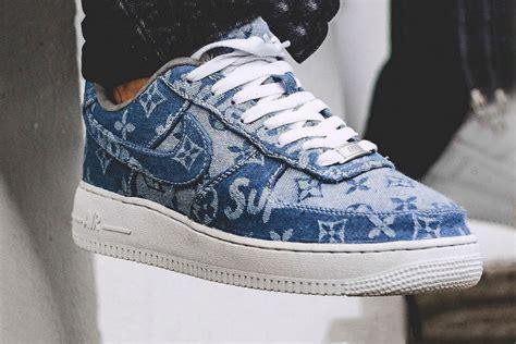 supreme nike air 1 sneaker custom supreme x louis vuitton x nike air 1