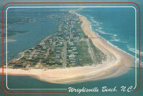 Wilmington Nc Property Tax Records Aerial View Of Wrightsville Carolina Near Wilmington Nc Postcard Ebay