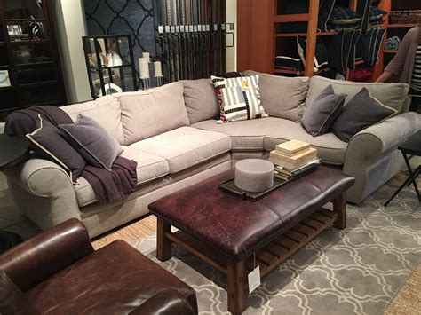 pb comfort sectional reviews pottery barn comfort grand sofa pottery barn pb comfort