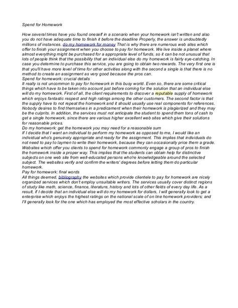 Argumentative Essay On Homework Should Be Given by Argumentative Essay About Homework