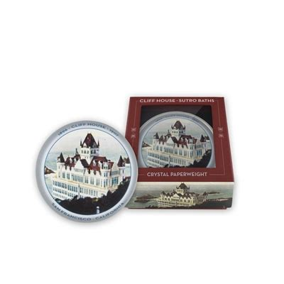 What Time Of Day Does Publishers Clearing House Come - crystal paperweight cliff house