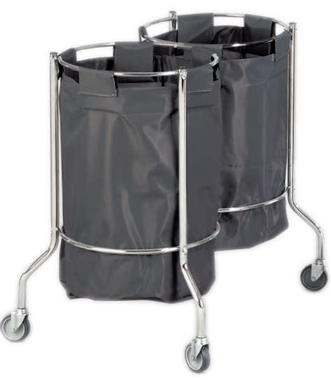porta immondizia porta sacco immondizia in acciaio cromato 216 92xh 95cm