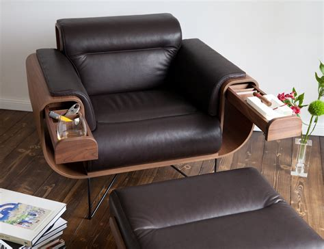 Leather Armchair El Purista Smoker S Chair Pursuitist