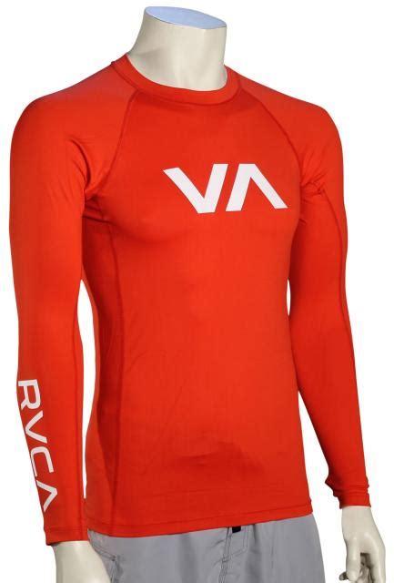 lava ls for sale rvca va ls rash guard lava for sale at surfboards com