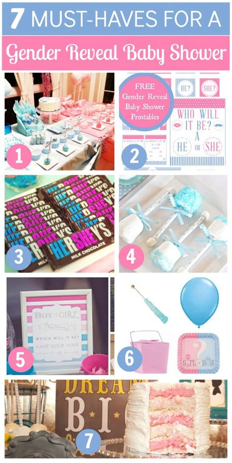 Baby Shower Gender Reveal Ideas by Gender Reveal Baby Shower Ideas