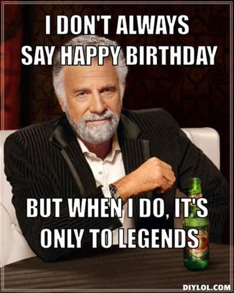 Happy Bithday Memes - incredible happy birthday memes for you top collections