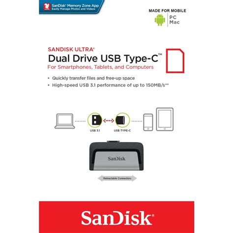 Flashdisk Sandisk Ultra Dual Otg Flash Drive Usb 3 0 32 Gb flashdisk otg sandisk ultra dual usb drive type c 32gb elevenia