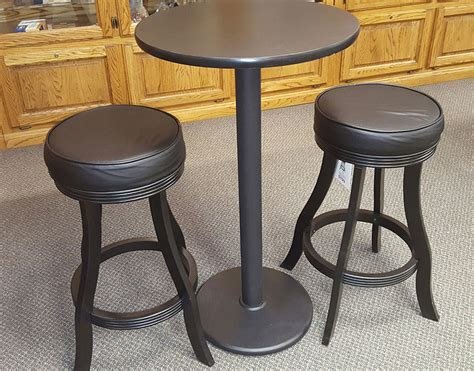 Small Pub Tables And Stools by Pre Owned