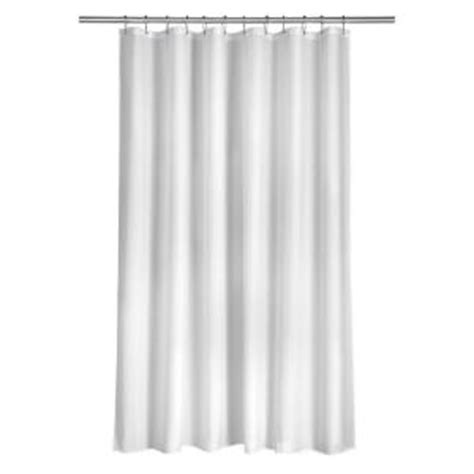 home depot shower curtains croydex shower curtain in plain white af159022yw the