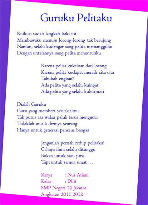 Jelita Senandung Hidup Kumpulan Puisi puisi galau kumpulan puisi tentang cinta the knownledge