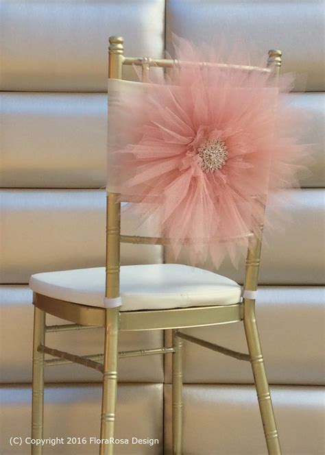 tulle chair sashes diy tulle chair sash