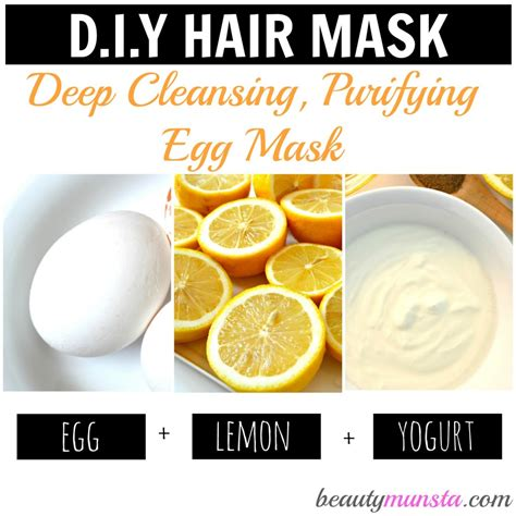 Yogurt Detox Benefits by 3 Egg Hair Mask Recipes For Gorgeous Hair Beautymunsta