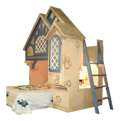 Snow White Cottage Themed Bunk Bed Theme Bunk Bed