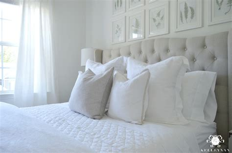 pottery barn white comforter guest bedroom reveal the white room