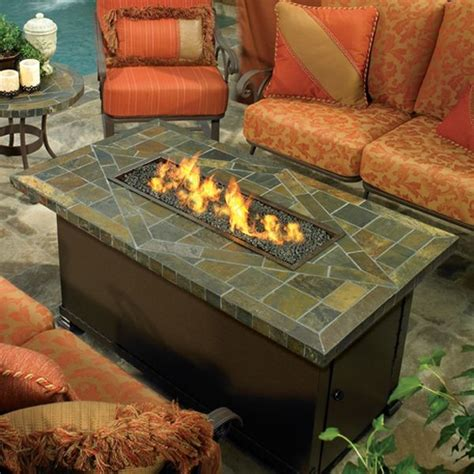 Outdoor Firepit Table Largo Outdoor Pit Table Pits Chicago By Home Infatuation