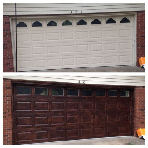 Garage Door Stain Best 25 Minwax Gel Stain Ideas On Gel Stains Faux Wood Garage Door Diy And Diy