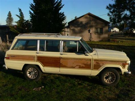 1986 Jeep Wagoneer Parts 1986 Jeep Grand Wagoneer For Sale In Siskiyou County