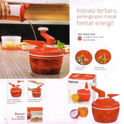 Tupperware Chef tupperware promo surabaya chef
